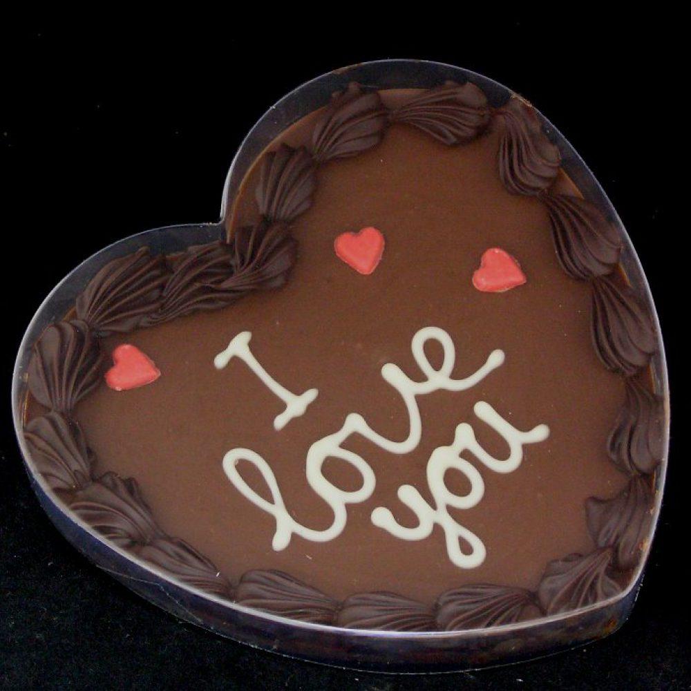 Tekstchocolade I love you