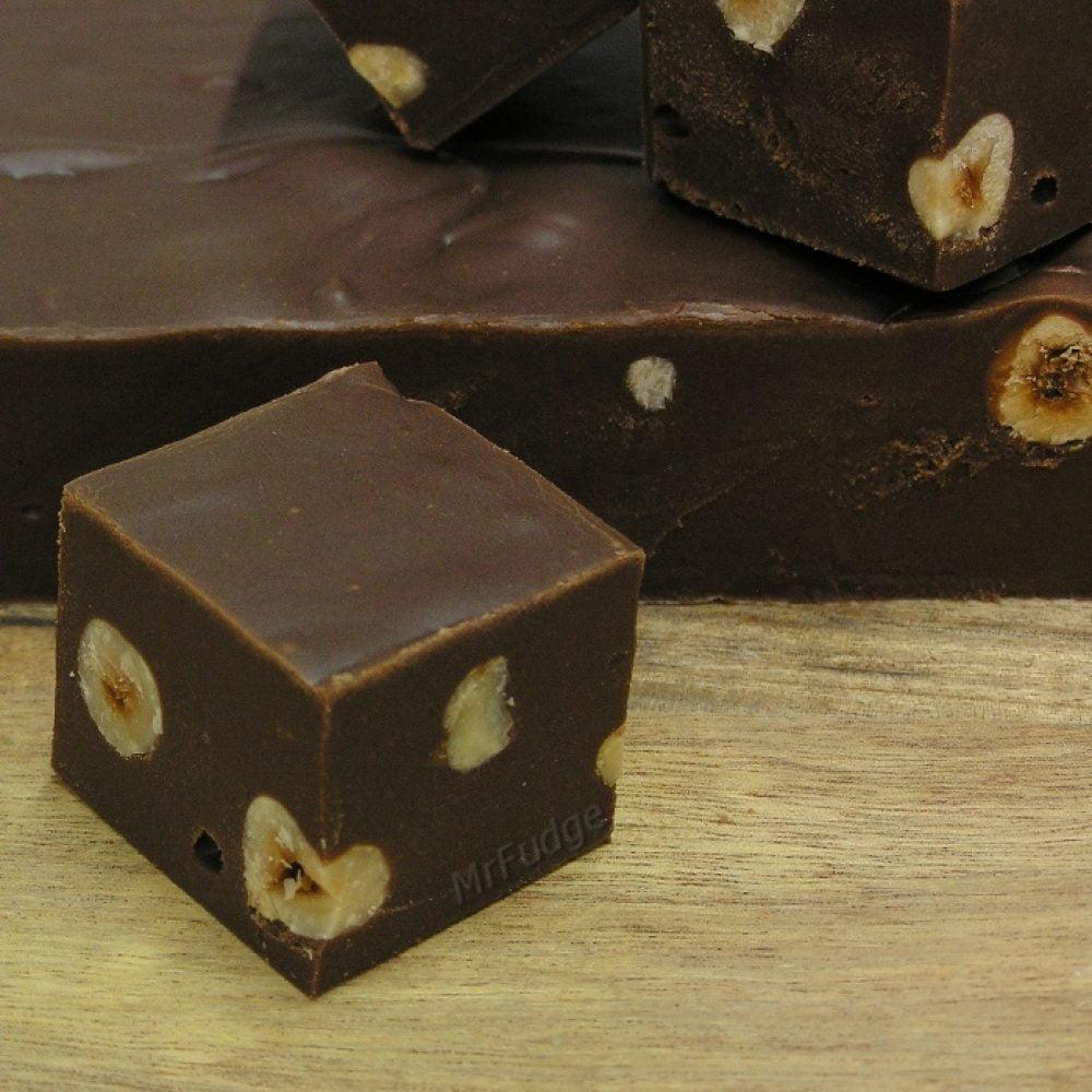 Fudge Chocolade Hazelnoot 1,25 kg